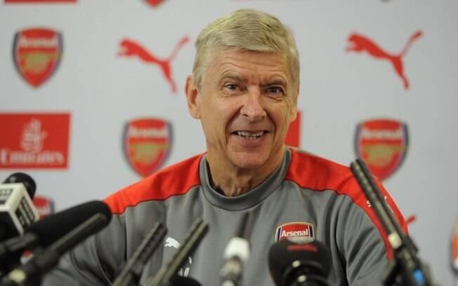 Arsene Wenger, técnico do Arsenal, fala sobre saída de Alexis Sánchez