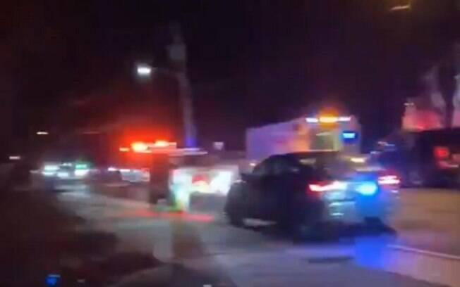 Ataque foi registrado na noite do sábado