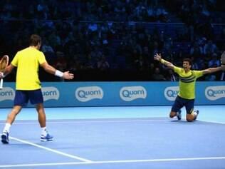Melo e Dodig garantiram vaga na final ao derrotarem o polonês Kubot e o sueco Lindstedt por 2 sets a 1