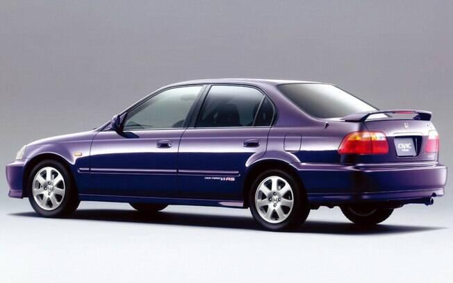 Honda Civic Ferio Vi-RS: versão esportiva da primeira geração do modelo feita no Brasil vinha com motor de 130 cavalos no Japão