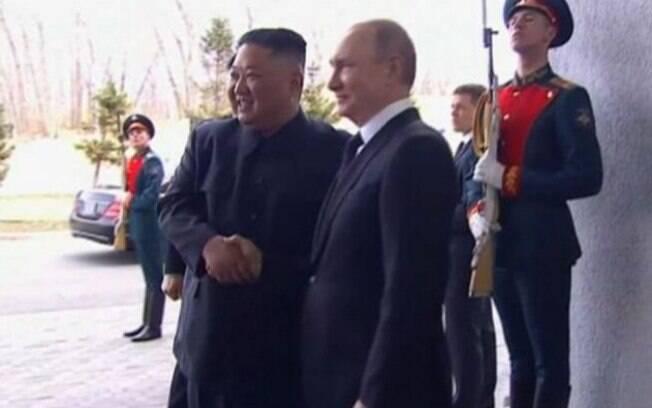 Os líderes realizaram a primeira cúpula na Rússia nesta quinta-feira