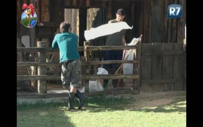 Marlon afirma que é complicado cuidar das cabras sozinho
