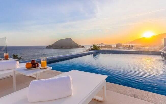 Blue Tree Premium fica na praia do Recreio, na zona oeste do Rio de Janeiro