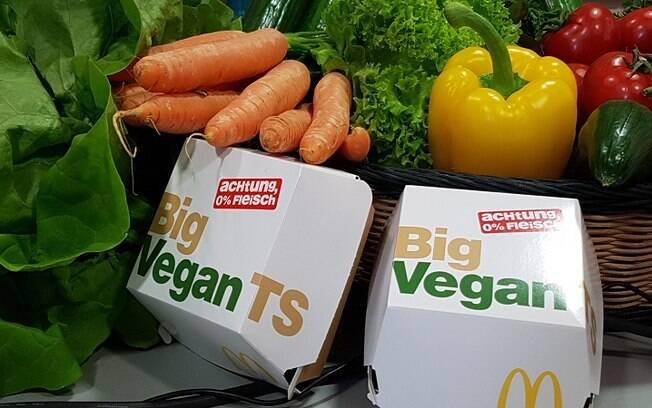 Big Mac Vegano do McDonald's é produzido pela Nestlé
