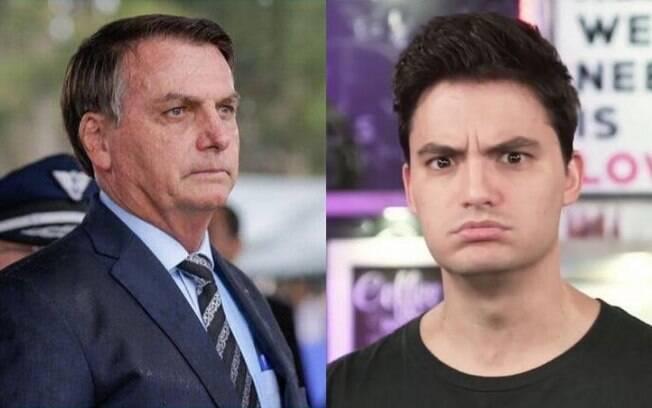 Bolsonaro e Felipe Neto