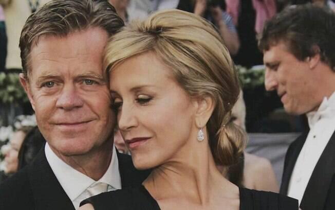 Felicity Huffman e seu marido, William Macy