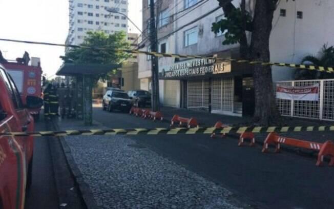 Prédio da Justiça Federal, em Pernambuco, foi evacuado na tarde desta segunda (7) após bolsa com conteúdo suspeito ser deixado no hall.