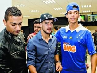 Apagado.  Mesmo sem uma boa atuação contra o time argentino, Arrascaeta recebeu o carinho e o apoio do torcedor cruzeirense