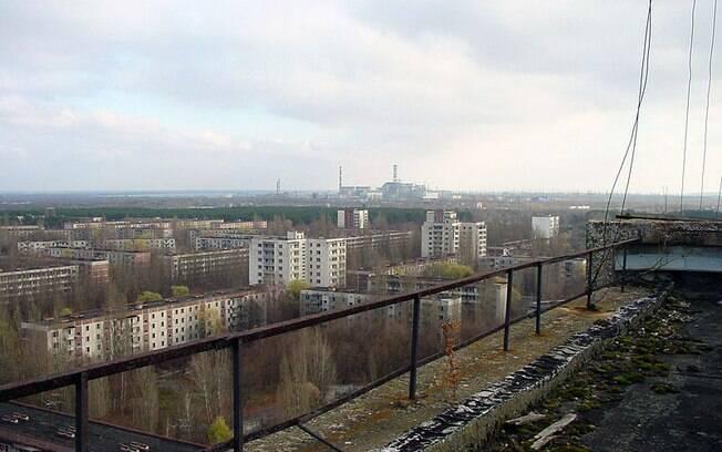 Imagem de Chernobyl quase 30 anos após o desastre: desde 1986 uma cidade fantasma