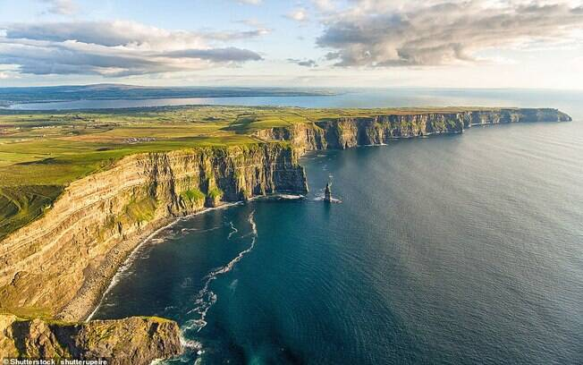 Penhascos de Moher, na Irlanda