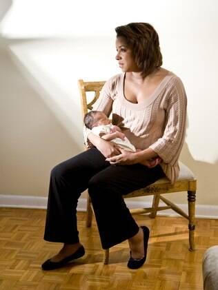 38% das mulheres se sentiram angustiadas nas primeiras semanas após o parto