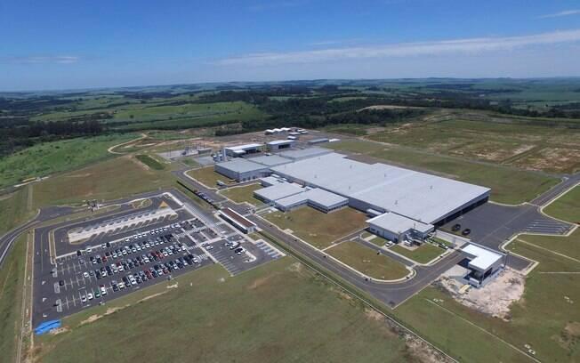 Fábrica da Toyota em Porto Feliz (SP), responsável pela produção dos motores 1.3 e 1.5 do Etios.