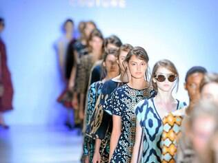 O tricô esperto da mineira Gig foi uma das novidades da 38ª temporada do São Paulo Fashion Week de inverno
