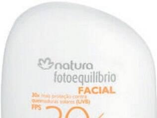 Protetor e hidratante facial Natura Chronos, R$ 34,10
