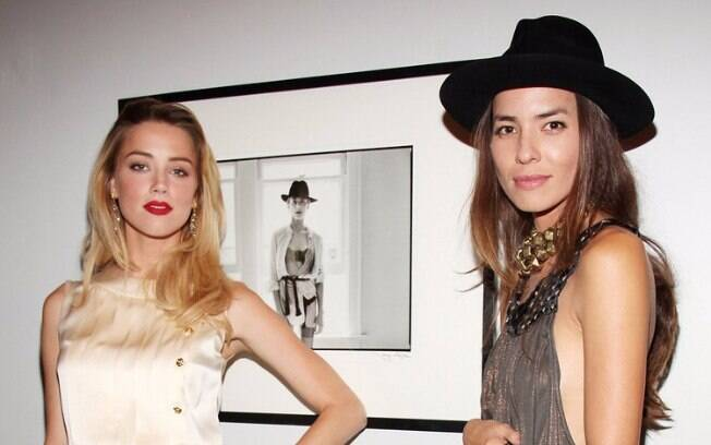 Amber Heard, mulher de Johnny Depp, foi casada com a fotógrafa Tasya Van Ree de 2008 a 2012