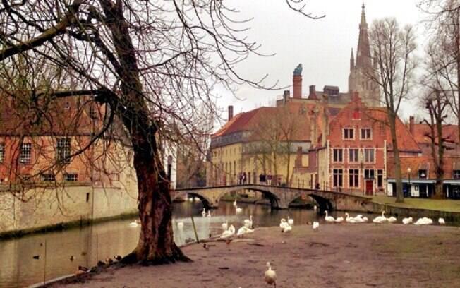 Conhecer Bruges, na Bélgica, significa uma viagem no tempo