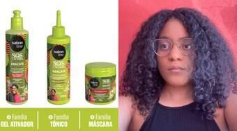 Testamos as linhas para cabelos crespos da ISZI e da Salon Line