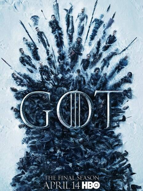 cartaz da série game of thrones