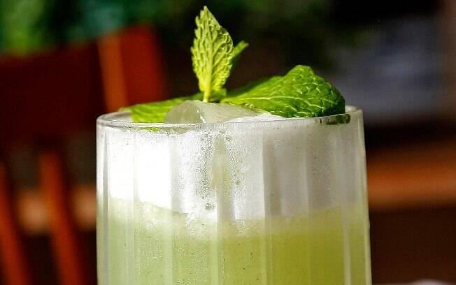 O Mocktail fresh veneza é uma ótima pedida para quem optou por não beber durante o happy hour