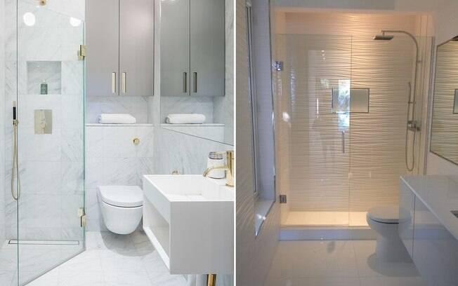 UP DECORA Saiba como ampliar banheiros pequenos -> Ampliar Banheiro Pequeno