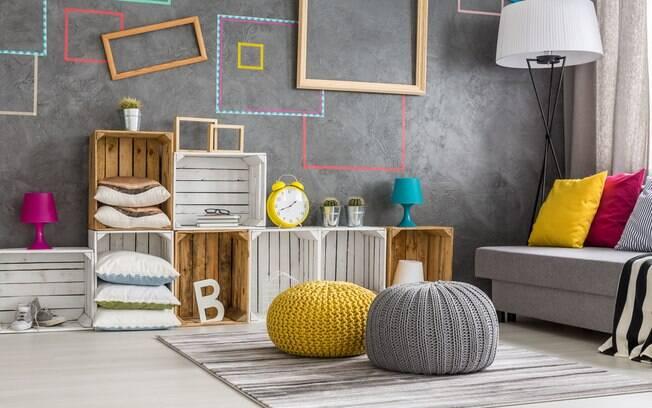 Apostar em formas geométricas para decorar a casa deixa o lar atemporal e moderno. Confira algumas dicas e inspirações