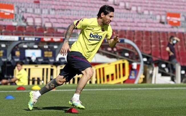 Messi no Barcelona