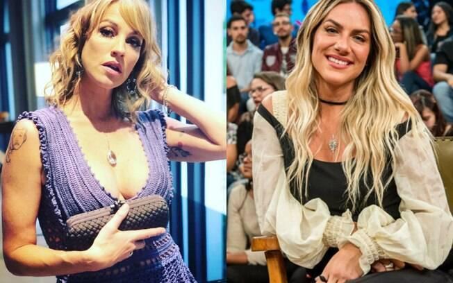 Luana Piovani e Gio Ewbank investem em carreiras parecidas para continuarem na mídia