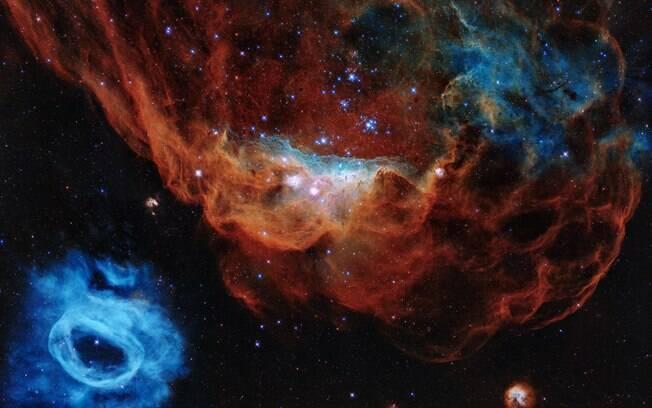 Telescópio decolou, no dia 24 de abril de 1990, a bordo do ônibus espacial Discovery