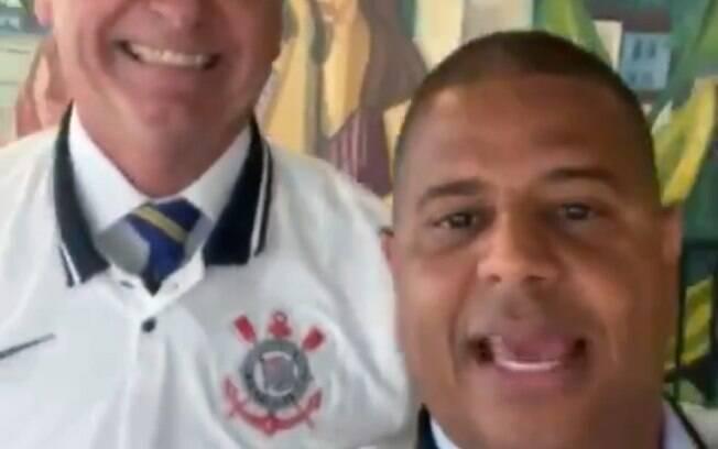 Marcelinho e Bolsonaro