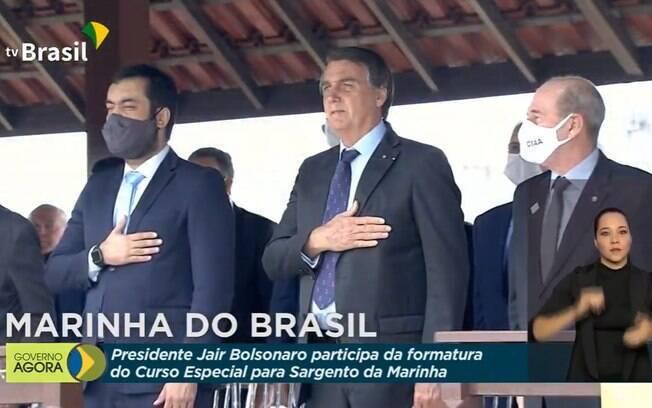 Presidente participou de evento com Crivella