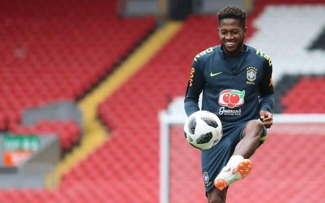Volante Fred é o novo reforço do Manchester United
