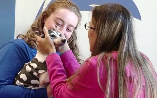A fox terrier escapou de casa na Flórida em uma tarde de fevereiro de 2007
