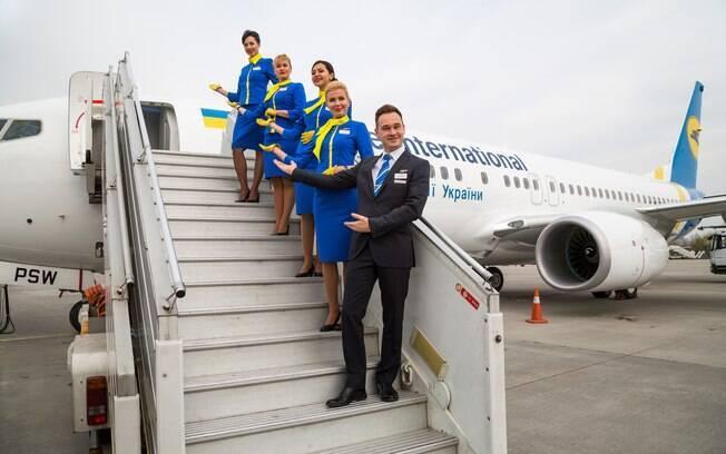 Em uma ocasião, Geralda deixou um passageiro sentir um gostinho de como é ser um tripulante durante o voo