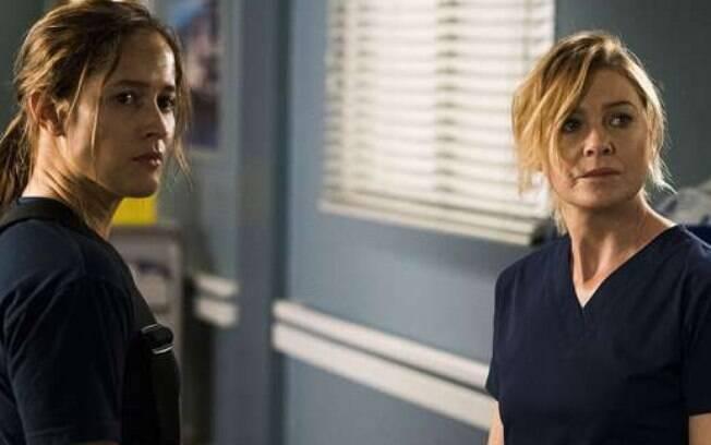 Andy Herrera e Meredith  vão se encontrar no epísodio piloto da nova série Station 19