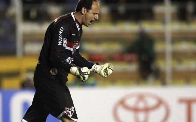 Rogério Ceni marcou de pênalti o gol do São  Paulo em La Paz