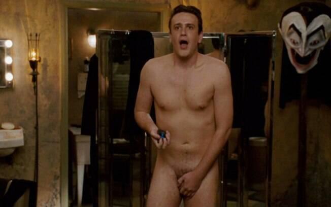 Jason Segel protagonizou uma cena de nudez frontal em