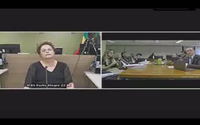 Ex-presidente Dilma Rousseff prestou depoimento no âmbito da Operação Zelotes