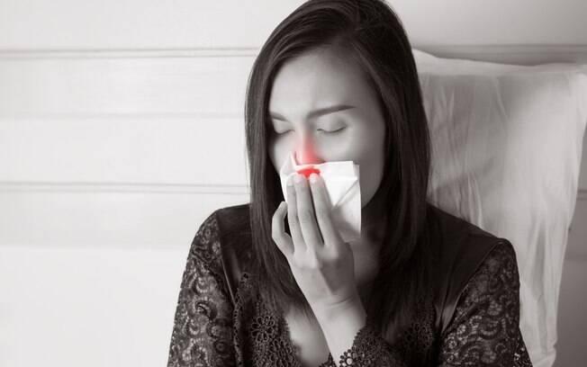 Em alguns casos, o sangramento nasal pode ser mais sério e, nessas horas, a recomendação é procurar ajuda médica
