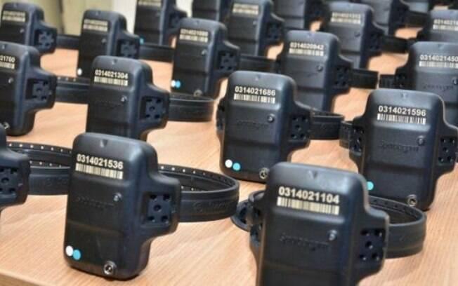 Tornozeleiras eletrônicas