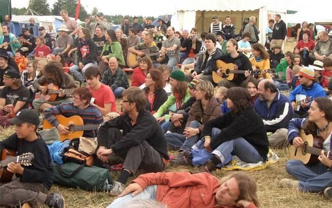 Festival musical hippie acontece na cidade de Essen desde 1968
