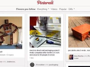 Pinterest foi um dos premiados no Webby Awards