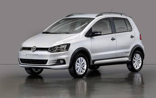VW Fox 2018 ganha apenas a cor