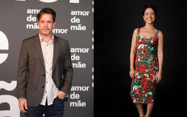 Murilo Benício e Manuela Dias