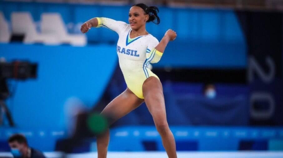 Rebeca Andrade conquistou medalha de prata