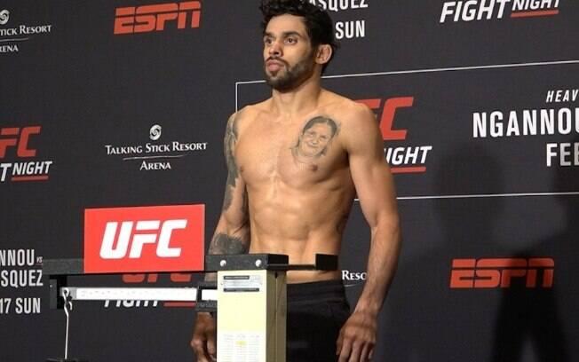 Renan Barão é um dos brasileiros que não bateu peso para duelo no UFC