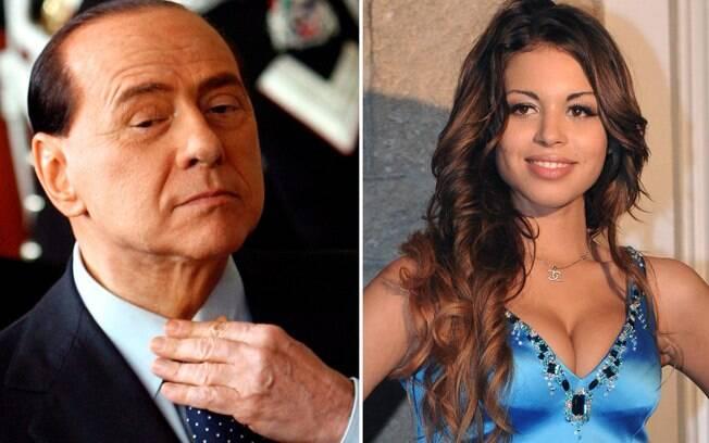 Karima El Mahroug, a Ruby, negou que tenha se prostituído a Cristiano Ronaldo. Só com Silvio Berlusconi