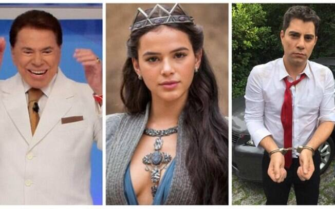 Silvio Santos, Bruna Marquezine e Evaristo Costa estão na lista dos artistas que decepcionaram
