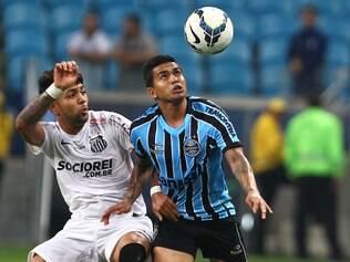 Grêmio e Santos ficam no empate