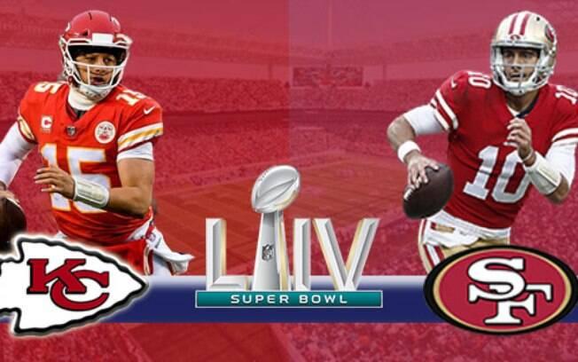 Kansas City Chiefs e San Francisco 49ers decidem o campeão da NFL no domingo, 2 de fevereiro