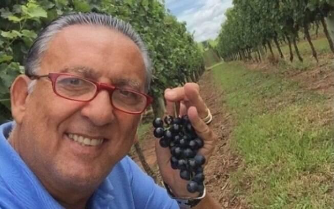 Galvão Bueno é dono de uma vinícola
